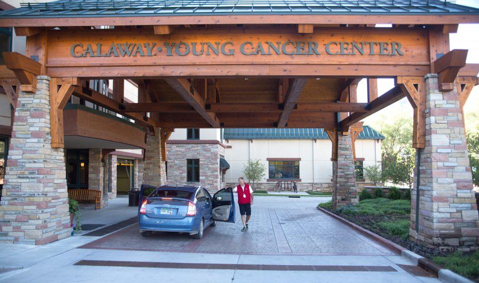 Calaway Young Cancer Center entrance